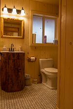 view of cabin bathroom